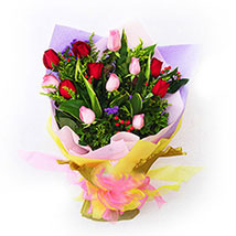 Thrill your Senses Bouquet: Send Flowers to Malaysia