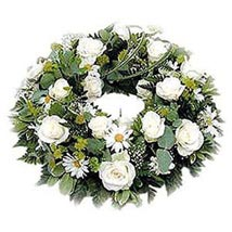Funeral Wreath: Wedding Gifts to Nepal