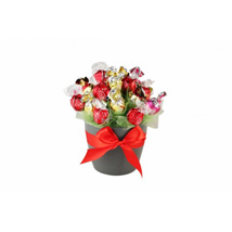 Flames Sweet Bouquet: Send Gifts to Netherlands