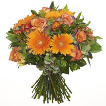 Bright Citrus Bouquet: Send Flower Bouquets to New Zealand