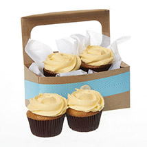 Caramel Salted Cupcakes: Send Anniversary Gifts To New Zealand