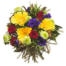 Mixed Colourful Bouquet: Send Flower Bouquets to New Zealand