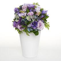 Pink N Purple Posy: Order Anniversary Flowers in New Zealand