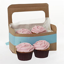 Strawberry Cupcakes: Birthday Gifts to New Zealand