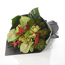 Tropical Paradise Bouquet: Send Birthday Gifts to New Zealand