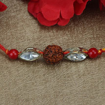 Love For Rudraksha Rakhi OMA: