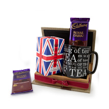 Keep Calm Tea Set: Gift Delivery in Pakistan
