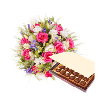 Princess Pink with Chocolates: Gift Delivery in Pakistan