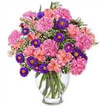 Purple Passionpak pak: Send Flowers to Pakistan