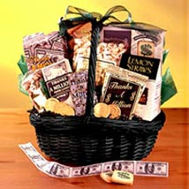Cookies Basket: Thinking of You Flowers to Philippines