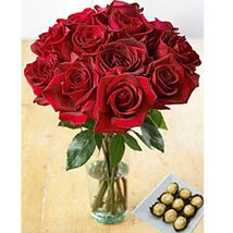 Redhot Delight: Send Flowers to San Juan