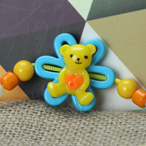 Cute Little Teddy Rakhi POR: Send Rakhi to Portugal