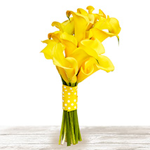 Brilliant Yellow: Send Mothers Day Flowers to Qatar