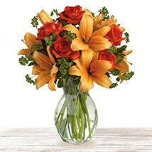 Flourishing Orange: Send Mothers Day Flowers to Qatar