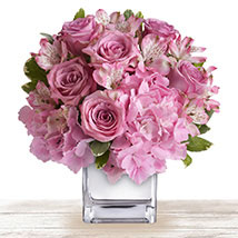 Pink Floral Expressions: