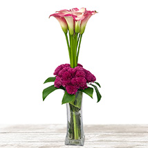 Purple Passion: Send Mothers Day Flowers to Qatar