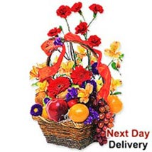 Fruits and Flowers Basket rom: Send Gifts to Romania