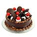 Choco Cherry Cake half kg