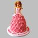 Flamboyant Barbie Cake Vanilla 3kg