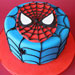 Just for you Spiderman Cake 3kg