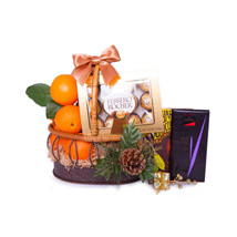 Basket Of Indulgence: Christmas Gifts Delivery In Saudi Arabia