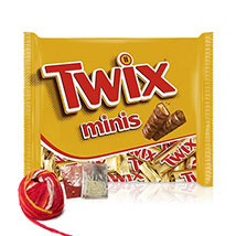 Delicious Twix Minis Bar: Send Chocolates to Singapore