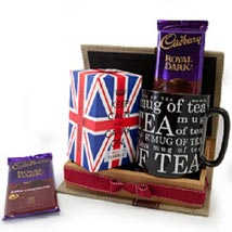 Keep Calm Tea Set: Send Chocolates to Singapore
