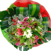 Sparkler sing: Mothers Day Flowers - Singapore
