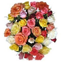 15 Mix Roses in Cello SA: Gifts To South Africa