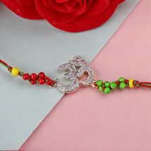 Prosperous Om Rakhi TUR: Send Rakhi to Turkey