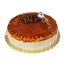 1 Kg Caramel Cake: Cake Delivery in Abu Dhabi