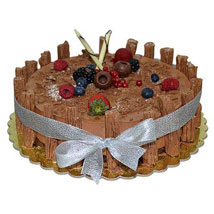 1 Kg Chocolate Flex Cake: Send Birthday Cakes to UAE
