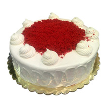 1 Kg Red Velvet Cake: Friendship Day Gifts to UAE