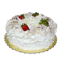 1 Kg White Forest Cake: Birthday Cake Delivery in UAE