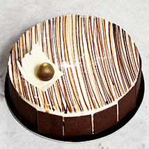 4 Portion Marble Cake: Send Anniversary Gifts to UAE
