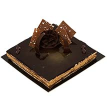 4 Portion Opera Cake: Send Birthday Cakes to UAE