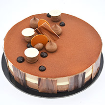 4 Portion Triple Chocolate: Cake Delivery in UAE
