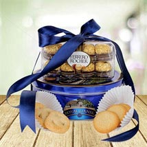 Choco Cookie Delight: Send Mothers Day Gifts to UAE