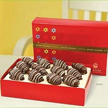 Chocolate Dates with Glaze: Chocolates for Eid UAE