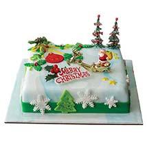 Christmas Delight: Christmas Cakes to Dubai