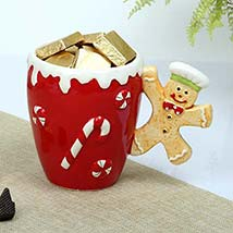 Christmas Special Mug n Chocolates: Christmas Gift Hampers to UAE