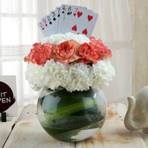 Classy Arrangement with Card: Diwali Gift Delivery in Dubai UAE