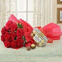 Combo for Love: Birthday Bouquets for UAE