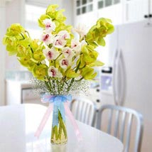 Cymbidium Bunch: UAE Flower Delivery for Her