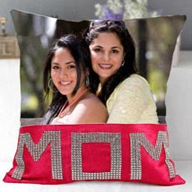 Dazzling Mom Cushion: Send Personalised Gifts to Sharjah