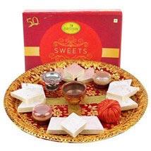 Deepavali Pooja Thali: Diwali Sweets to Sharjah