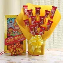 Dinosaur Rakhi Hamper: Send Rakhi to Abu Dhabi