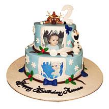 Elsa theme Cake: Send Personalised Gifts to UAE