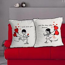 Everlasting Love Cushion: Send Gifts to UAE for Him
