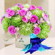Exotic Elegance: Flowers for Birthday
